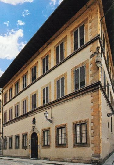 Foto facciata Casa Buonarroti, Museo a Firenze con opere di Michelangelo