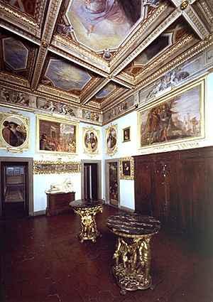 Camera della notte e del dì of Casa Buonarroti Firenze