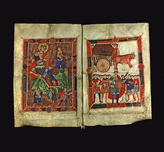 Psalterium Davidicum (noto come Salterio di Polirone) 1090-1100 Mantova, Biblioteca Comunale Teresiana