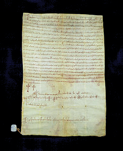 Placito emanato da Beatrice, contessa e duchessa 7 giugno 1072 Siena, Archivio di Stato